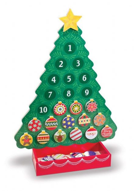 Melissa & Doug Magnetic Christmas Tree Advent Calendar